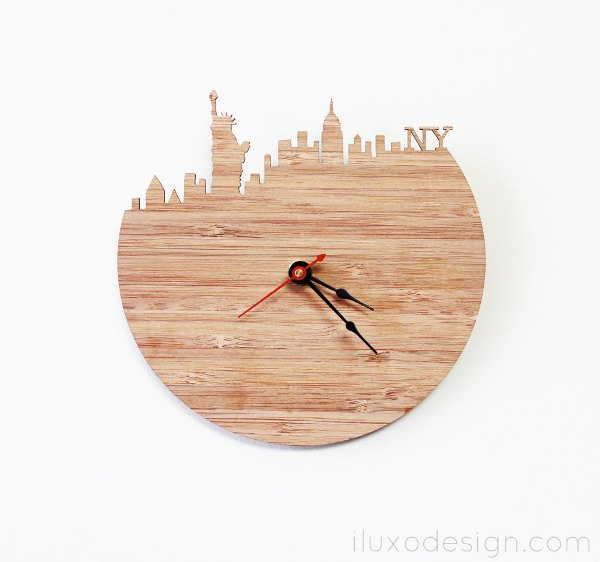 40 Creative Beautiful And Modern Wall Clocks Spicytec