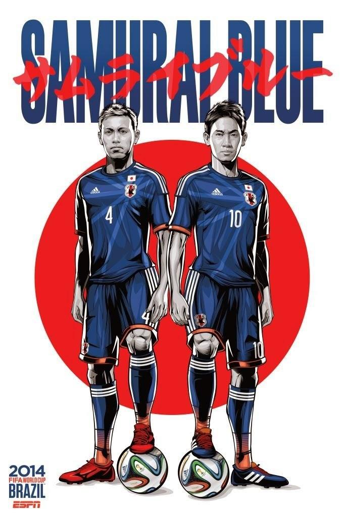 Japan Team FIFA 2014
