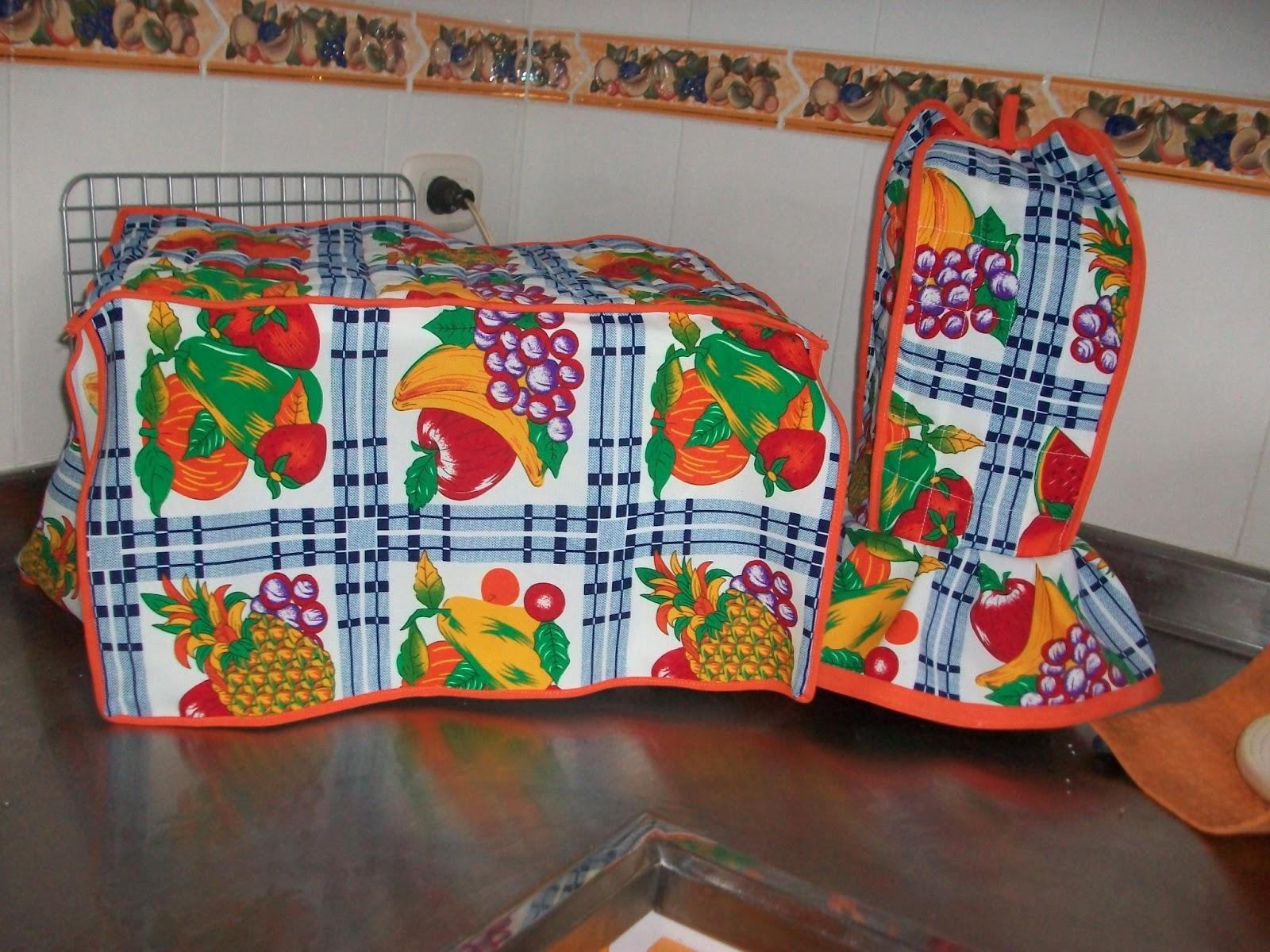 Lenceria De Baño Paso A Paso:forros para microondas y licuadoras