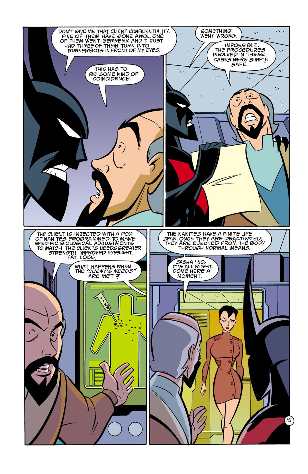 Batman Beyond [II] Issue #11 #11 - English 16
