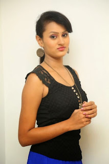 Archana Telugu new actress in Stunning nlack tank top beautiful pics
