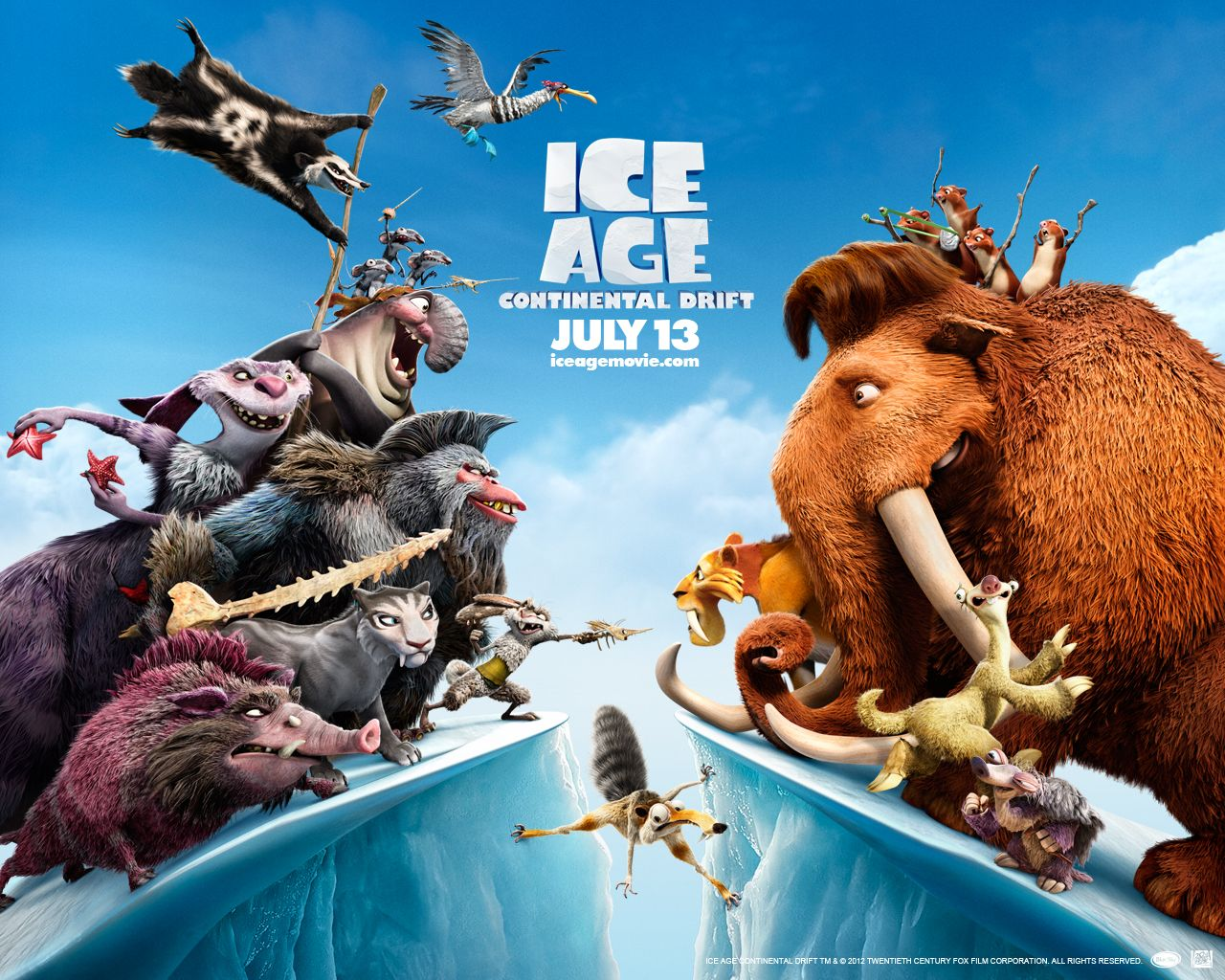Ice Age Continental Drift HD Wallpapers Posters| HD ...