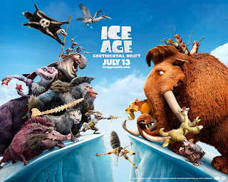 Ice Age 4 Continental Drift Animation Poster HD Wallpaper