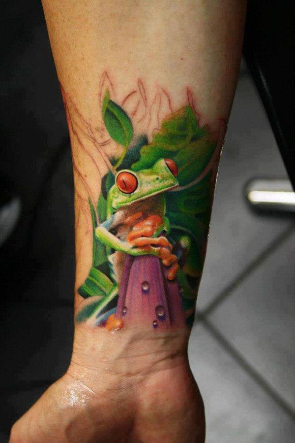 3d wrist tattoos