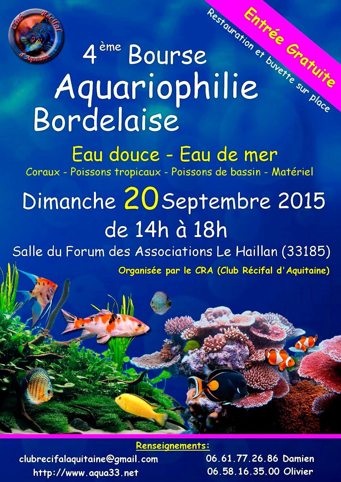 Bourse aquariophile for Site aquariophilie