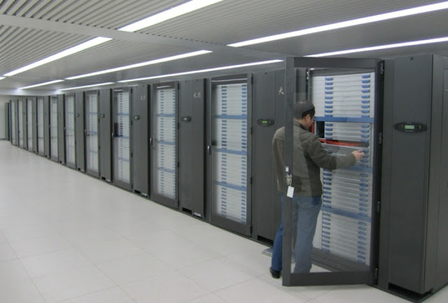 Tianhe 1 Supercomputer