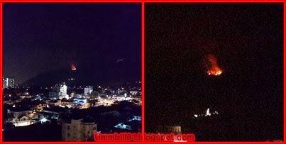 terbakar, Pulau Pinang, Tanjung Tokong