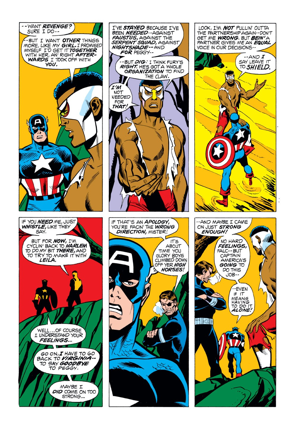 Captain America (1968) Issue #165 #79 - English 4
