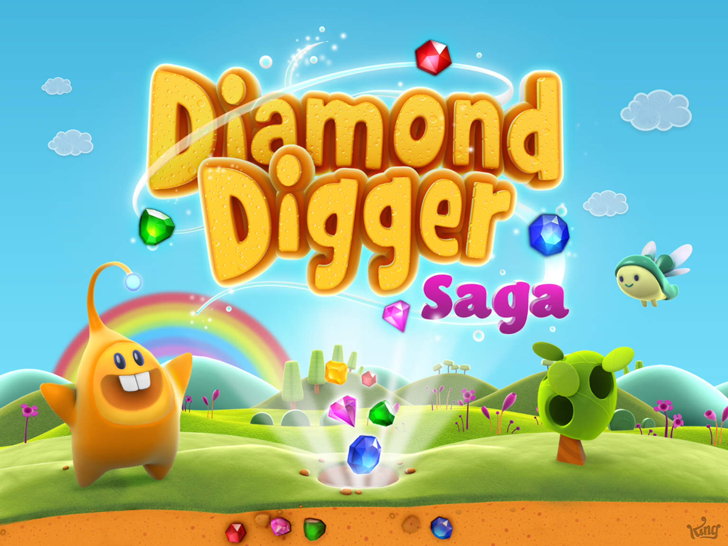 Diamond Digger Saga Free App Game By King.com Limited