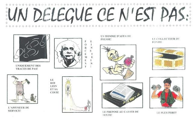 Miss K's English lessons: élection des délégués-élèves