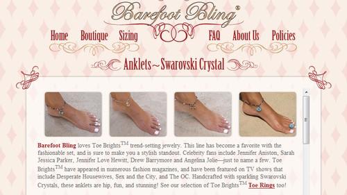 Crystal Anklets
