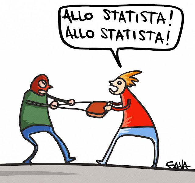 gavavenezia gava vignette satira berlusconi condanna ladro statista presine