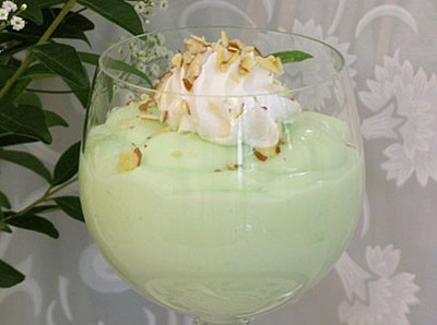 Chilled Pineapple Mousse With Pistachios Recipes — Dishmaps