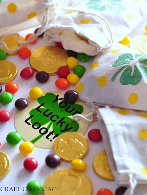 St. Patrick's Day Treat Bags www.craft-o-maniac.com