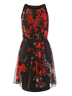 giambattista valli Poppy print dress