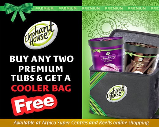 Buy any Two Premium Tubs & get a Cooler Bag FREE.