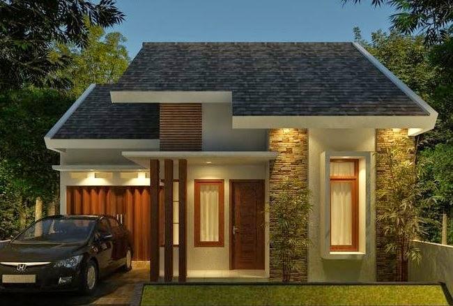 gambar rumah minimalis sederhana 1 lantai type 36 2 kamar