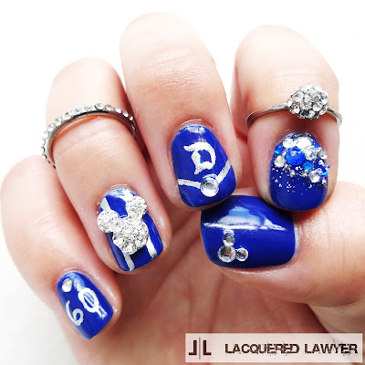 Lacquered Lawyer Nail Art Blog Disneyland 60th Anniversary