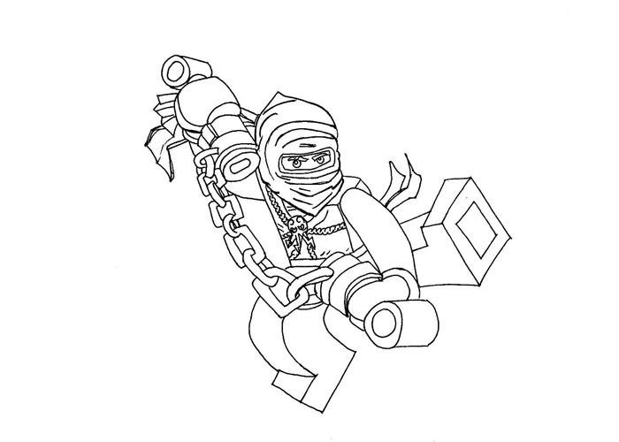Ninjago for Jay ninjago coloring pages