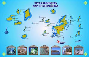 peta taman nasional karimunjawa jepara jawa tengah