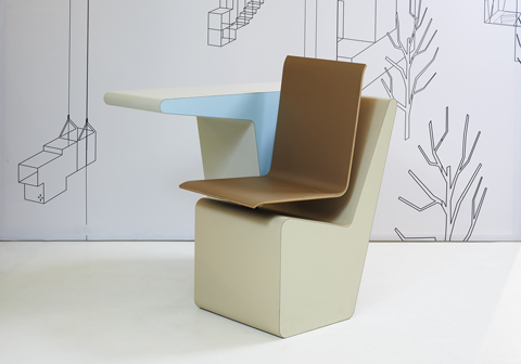 Funky friday blog: bureau kast en stoel in een