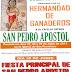 CULTOS EN HONOR A SAN PEDRO APOSTOL
