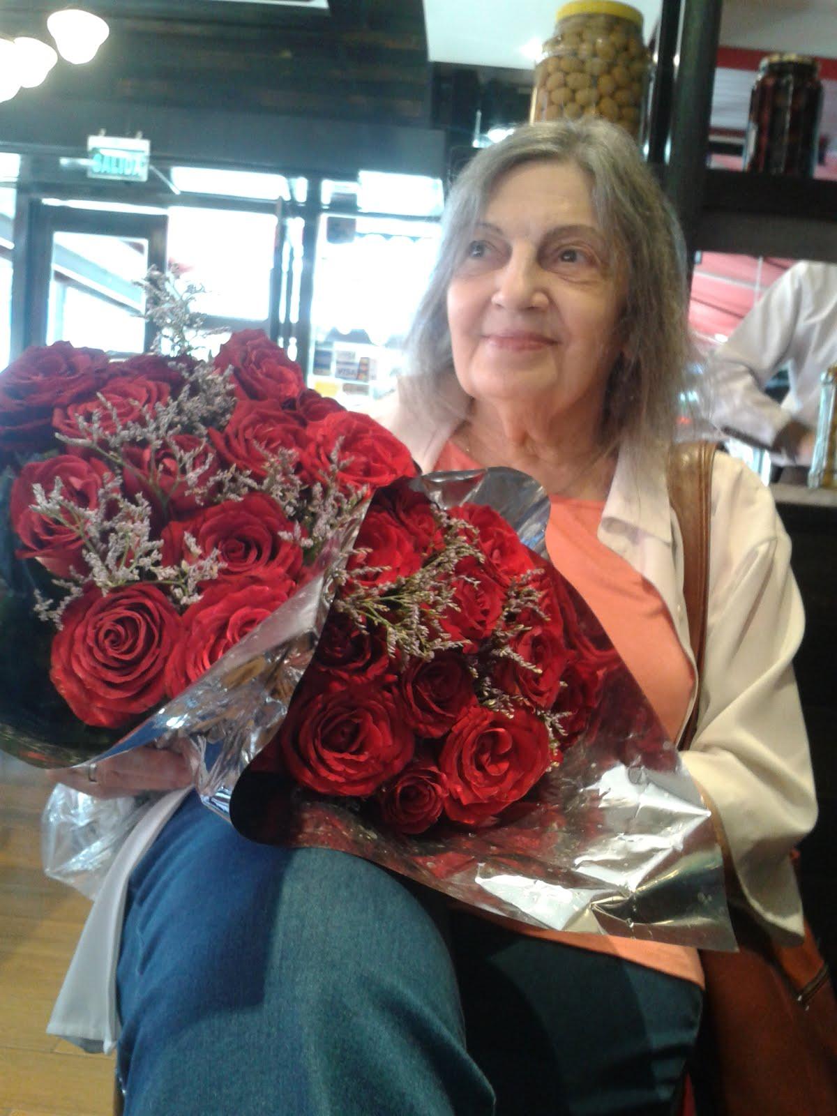 Rosas rojas para una dama...