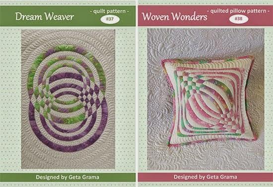 http://www.romanianquiltstudio.com/english/raw-edge-applique-quilt-pillow-pattern.html