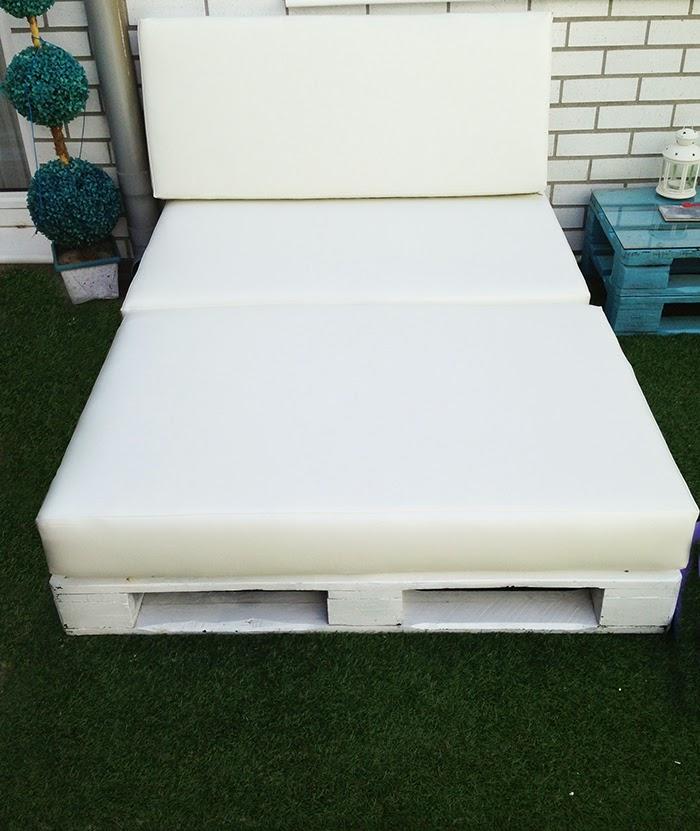 Muebles de palets como se hace un for Muebles chill out