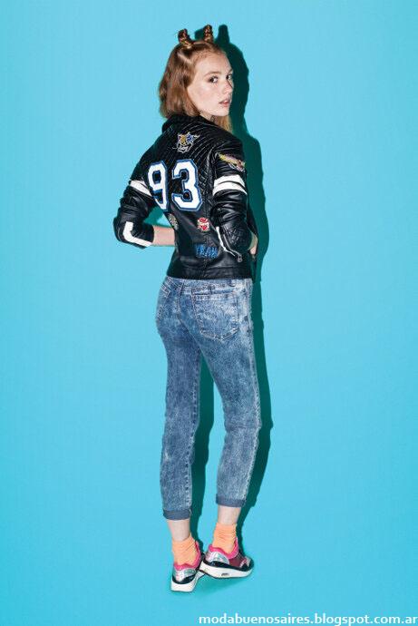 Moda jeans invierno 2015 Muaa.