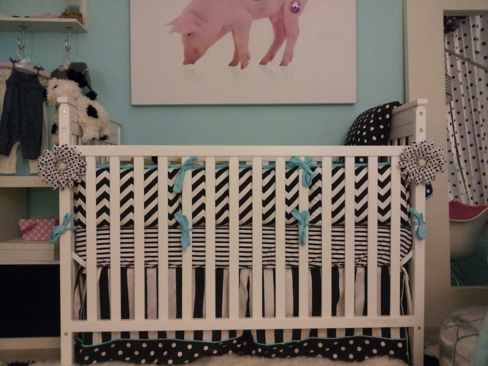 jcpenney baby crib bedding