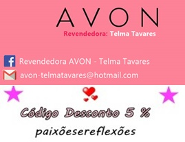 Parceria Revendedora AVON - Telma Tavares