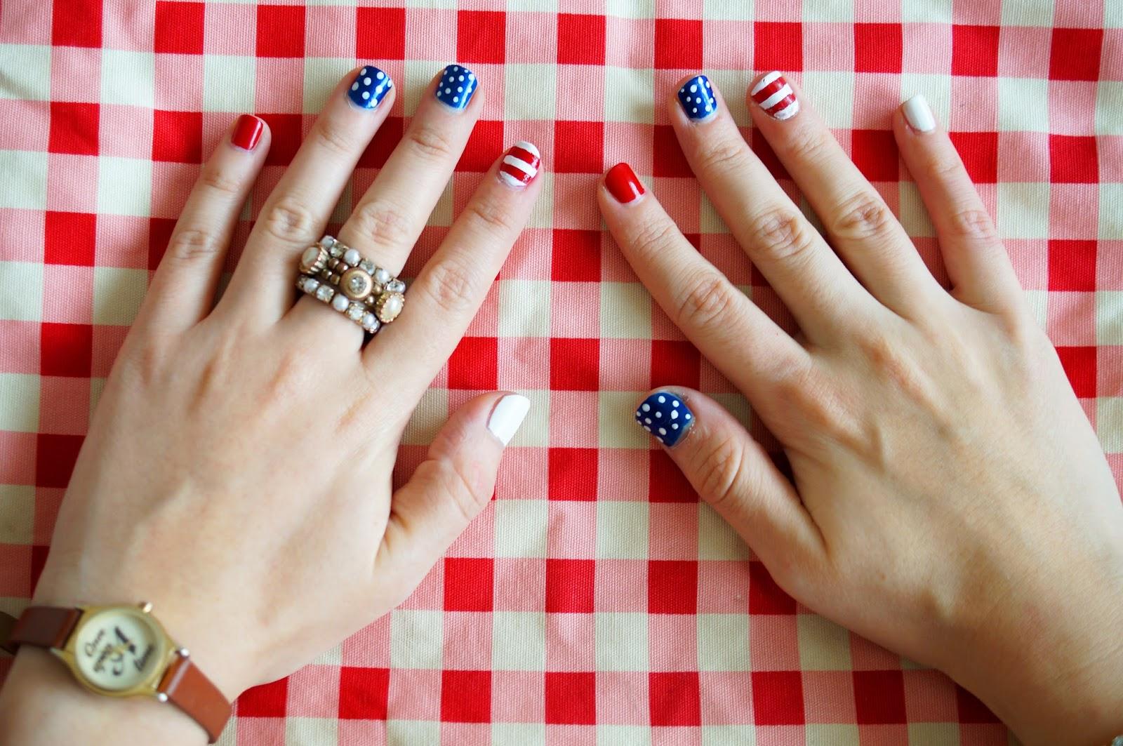 Fourth of July Nails, Americana Fashion