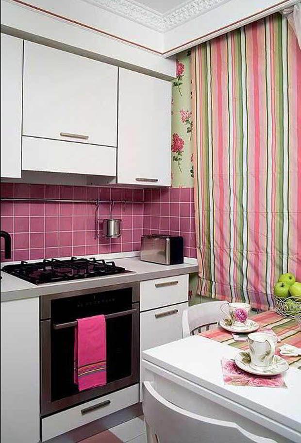 Decoração de cozinha pink