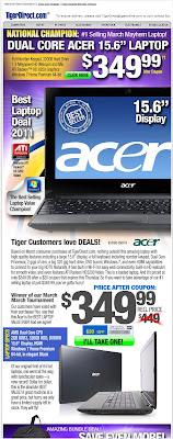 Click to view this Apr. 5, 2011 TigerDirect email full-sized