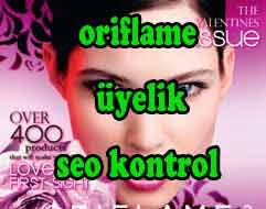 Oriflame üyelik başvurusu