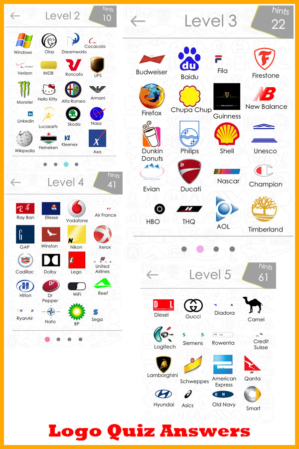 Super Clothing Logos Quiz Answers | Logo Wallpaper NJ53