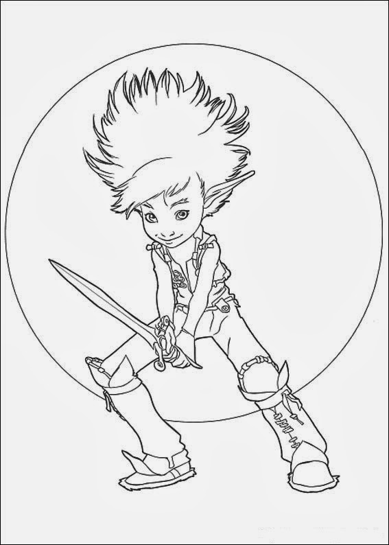 Spiderwick Chronicles Coloring Pages Spiderwick Chronicles Coloring Pages
