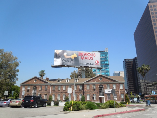 Devious Maids series premiere TV billboard
