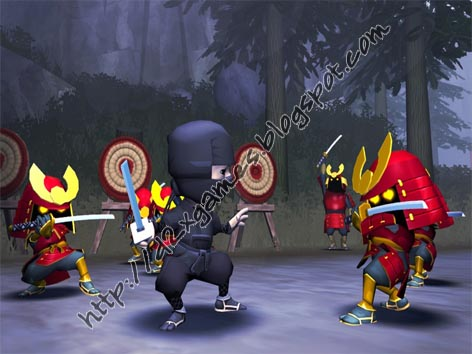 Free Download Games - Mini Ninjas