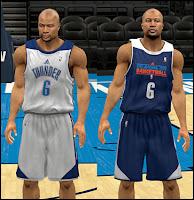 NBA 2K13 Oklahoma City Thunder Practice Jersey Mod