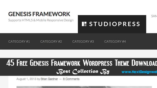 45 Free Genesis Framework Wordpress Theme