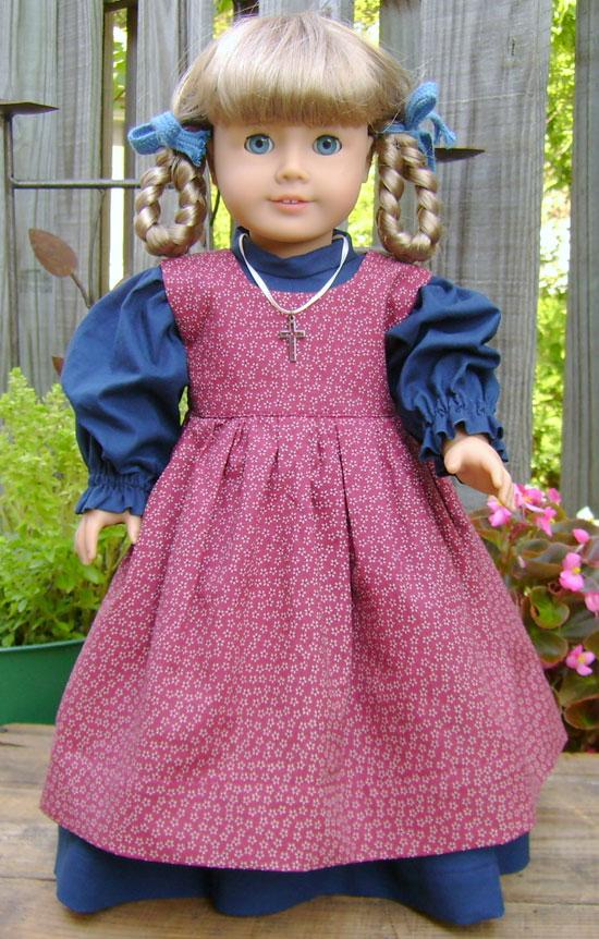Royal Blue Calico Dress