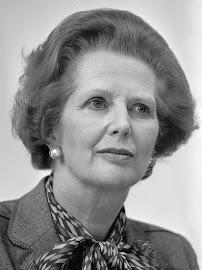Primer Ministro británica MARGARET THATCHER (13/10/1925 - 08/04/2013).