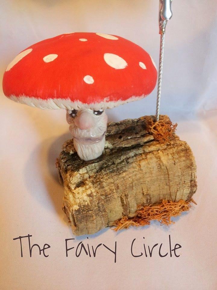 ooak mushroom fantasy fungo miniatura
