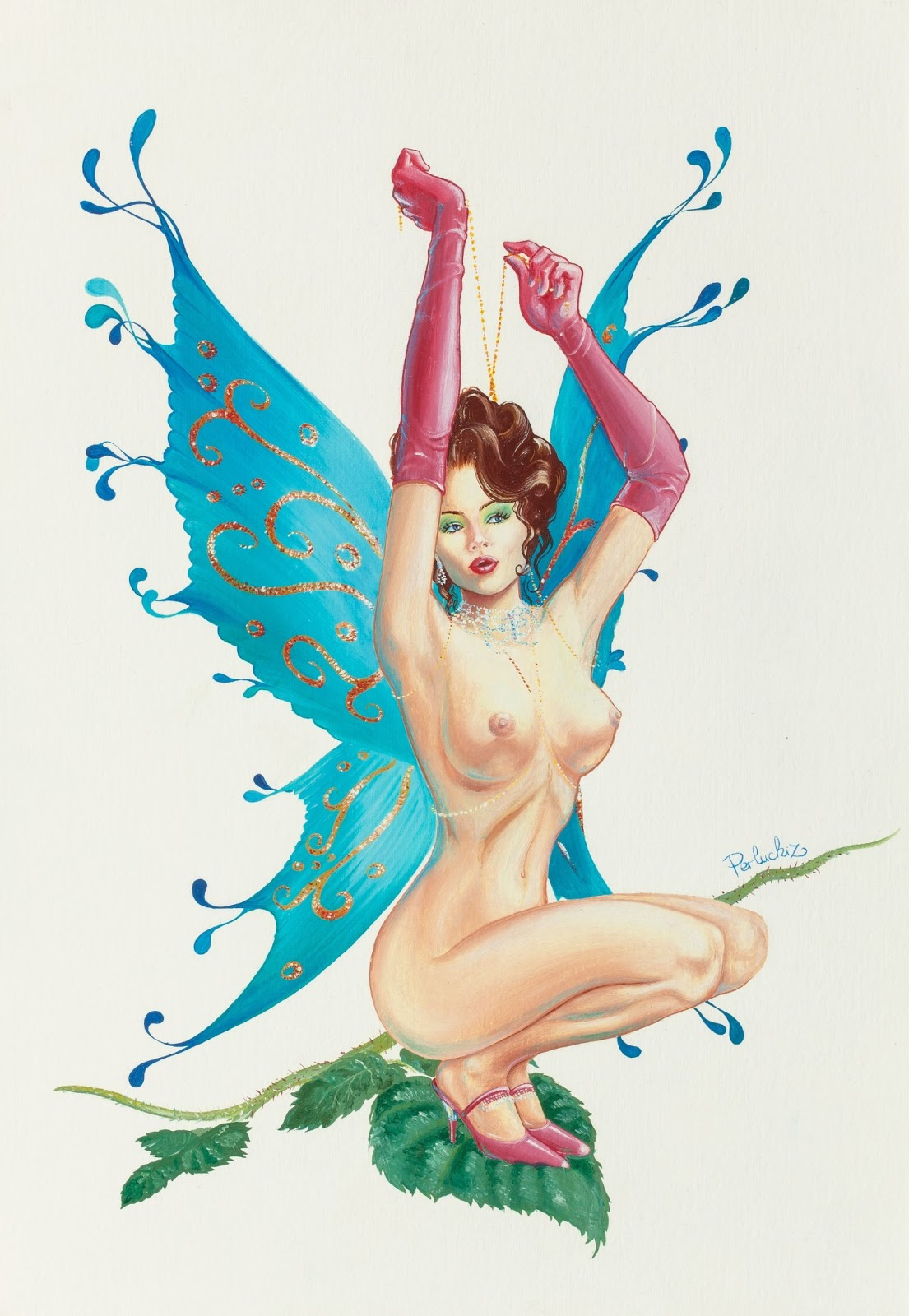 Hd naked fairy art hentia pic