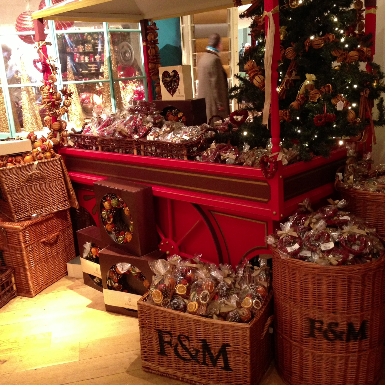 Christmas at fortnum mason angloyankophile - Fortnum and mason christmas decorations ...