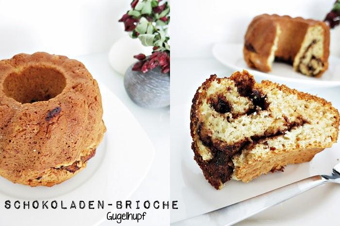 Schokoladen-Brioche Gugelhupf