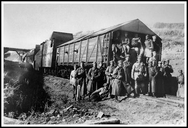 legión checoslovaca, guerra civil rusa, tren