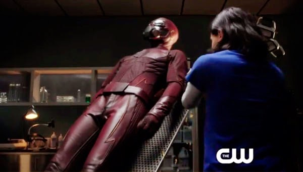 El traje de The Flash en el piloto filtrado de CW